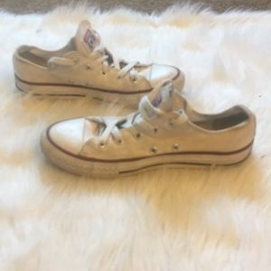 Converse Youth White Sneakers Size 3
